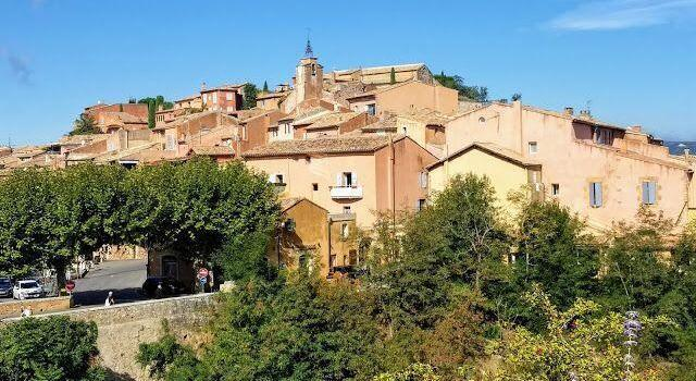 Beautiful Colourful Ochres Roussillon