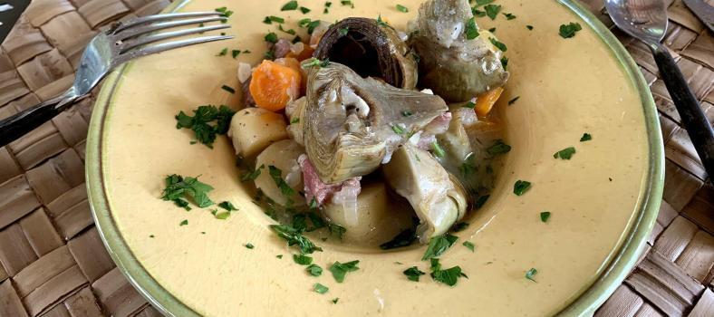 Artichokes Barigoule Provencal Classic Provence Gourmet