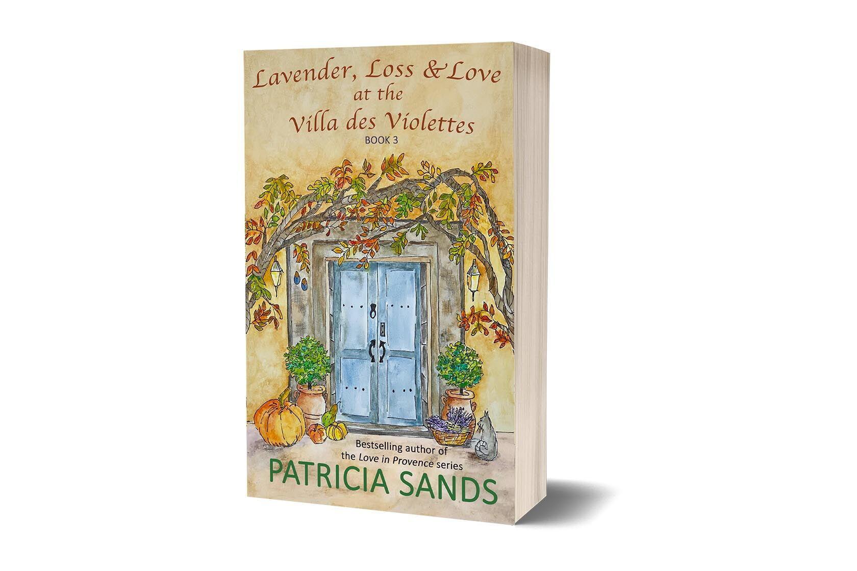 Book Villa des Violettes Patricia Sands book cover