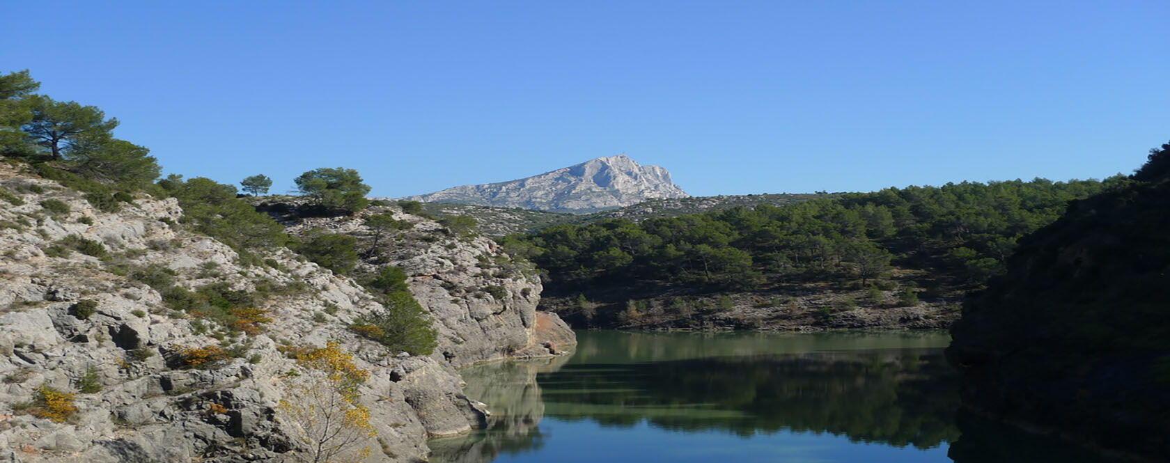 Carrière de Bibémus Quarry Aix-en-Provence