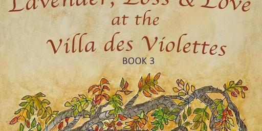 Book Villa des Violettes Patricia Sands book cover