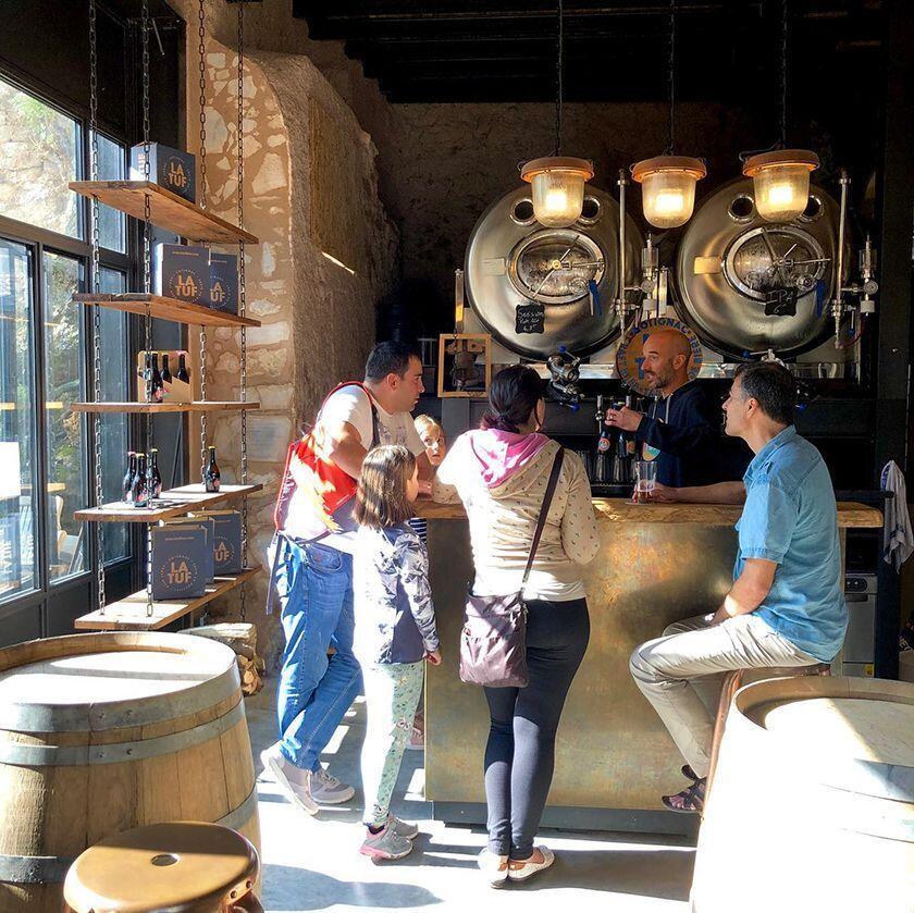 La Tuf bar area photo credit Victoria Koning