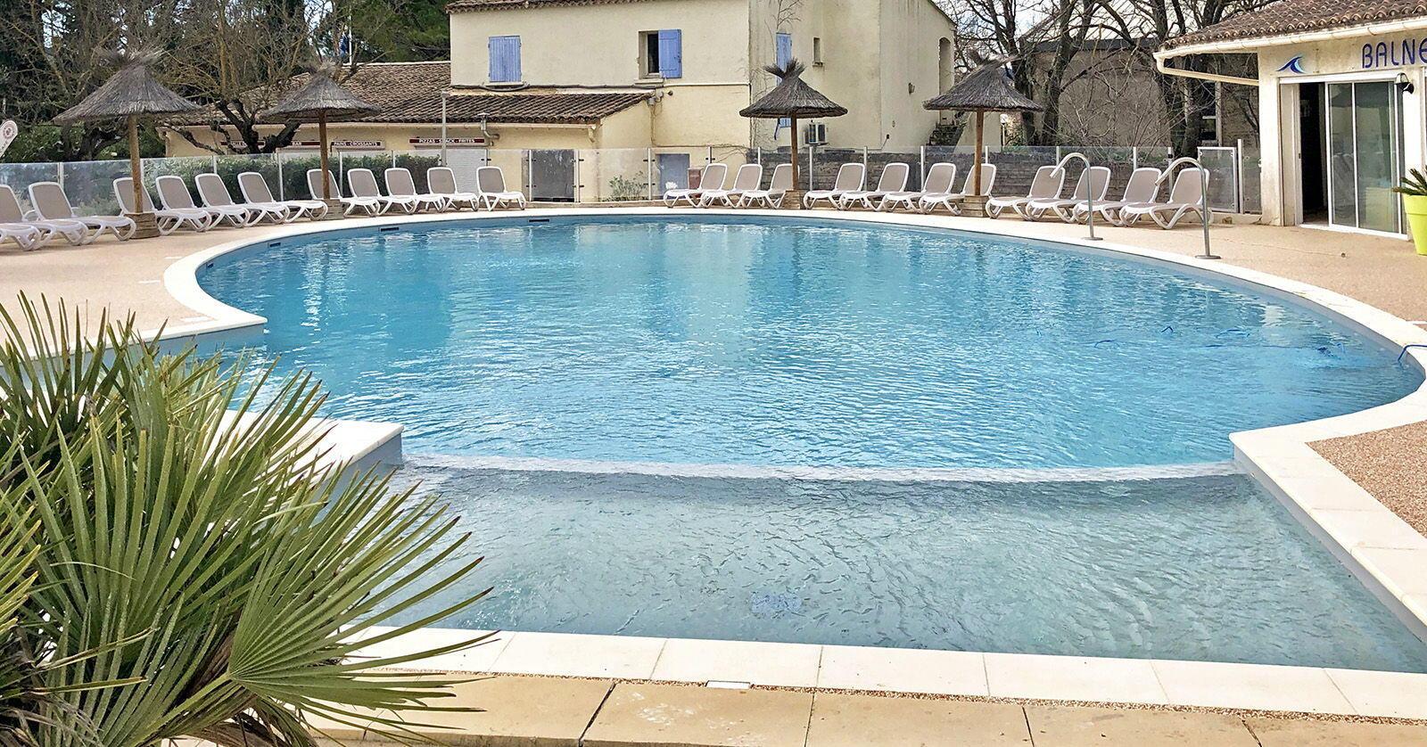 Mas de Nicolas Camping St Remy de Provence piscine 2020