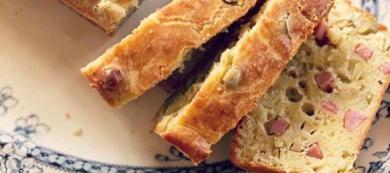Quick Loaf Ham Olive Cake