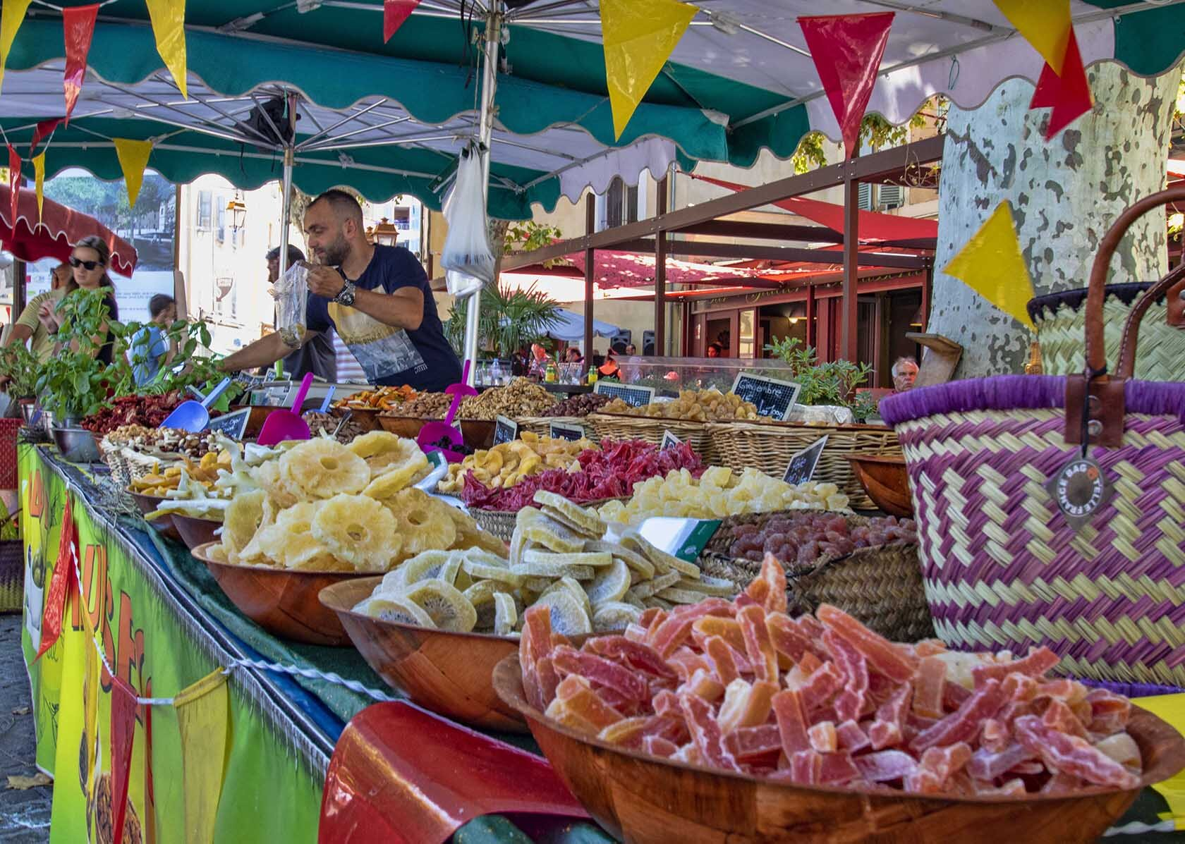 Fruite Confit Market Stand Holiday Apartments Apt Provence