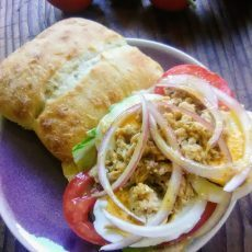 Pan Bagnat French Sandwich