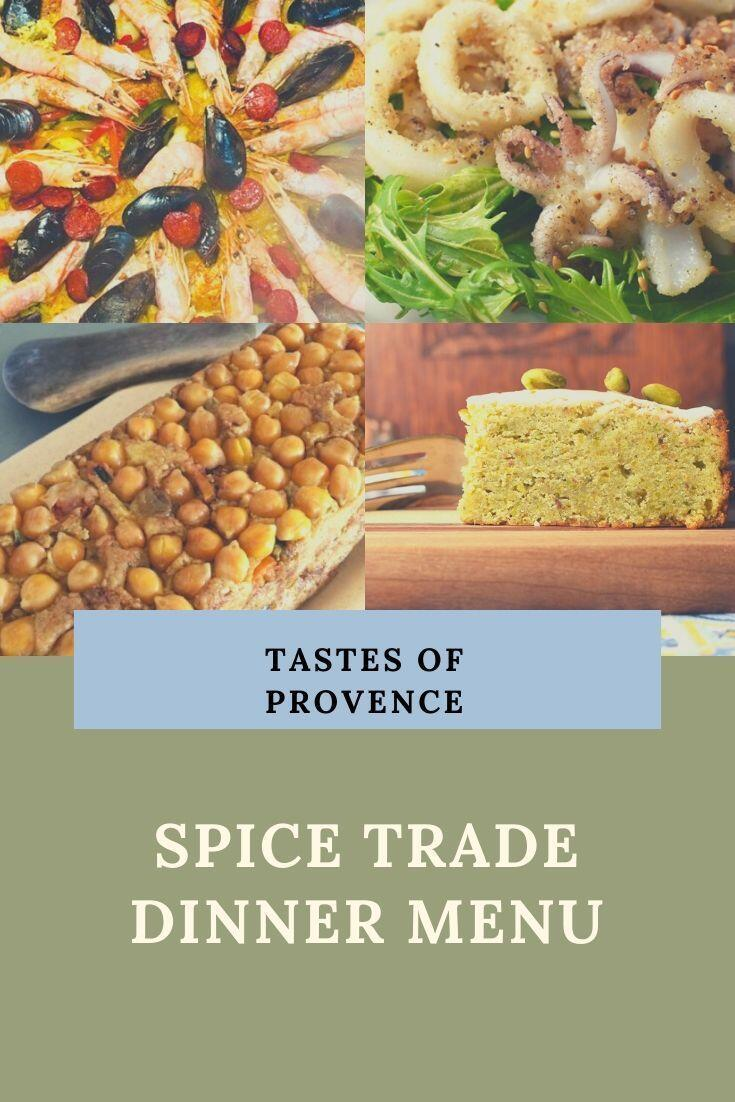Provencal Spring Menu Spice Route