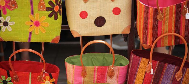 Souvenirs from Provence Market Bags