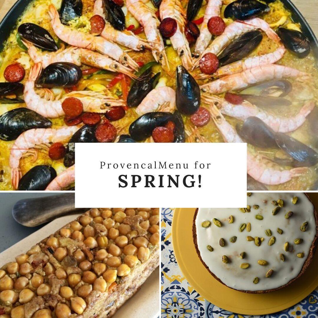 Provencal Spring Menu Spice Route