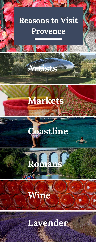 10 Reasons Visit Provence