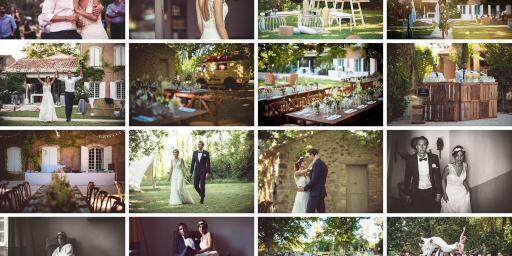 Guide Dream Weddings Provence Domaine de Palerme Weddings MOSAIQUE