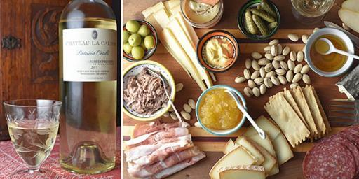 Easy Wine Cheese Entertaining Chateau la Calisse Wine Food Pairing
