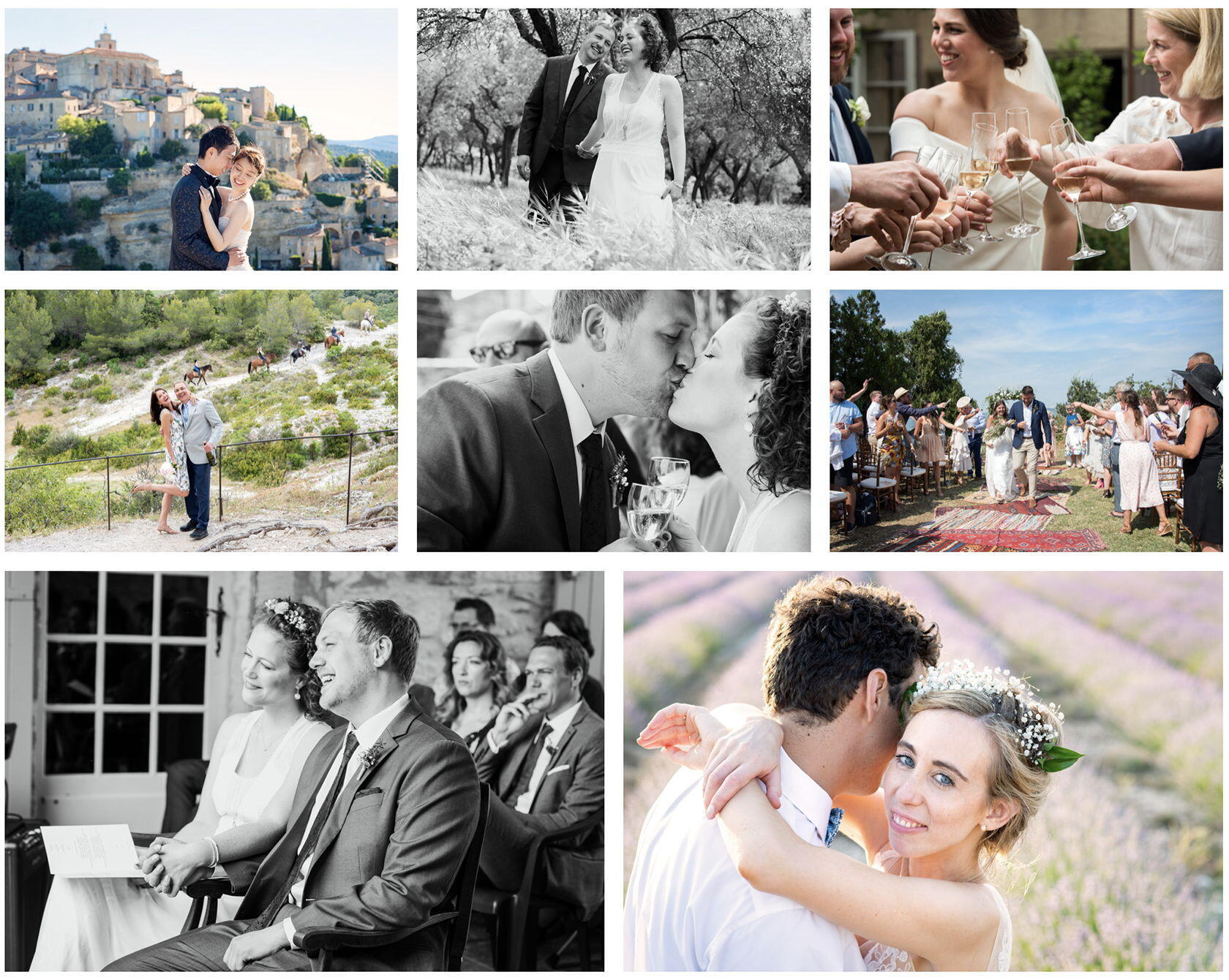 Guide Dream Weddings Provence Ashley Tinker Photographer in Provence