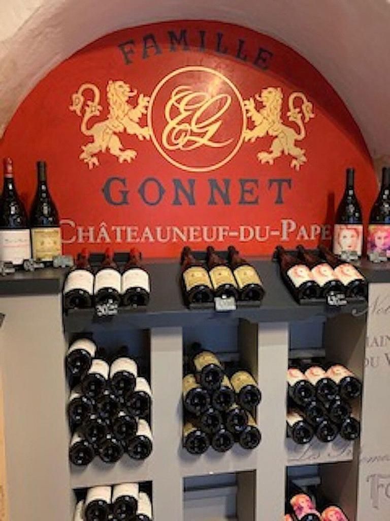 My French Dreams Provence Gonnet Wine Chateauneuf du Pape