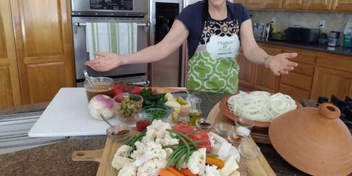 Vegetarian Moroccan Tagine Recipe Marrakesh Culinary Adventure