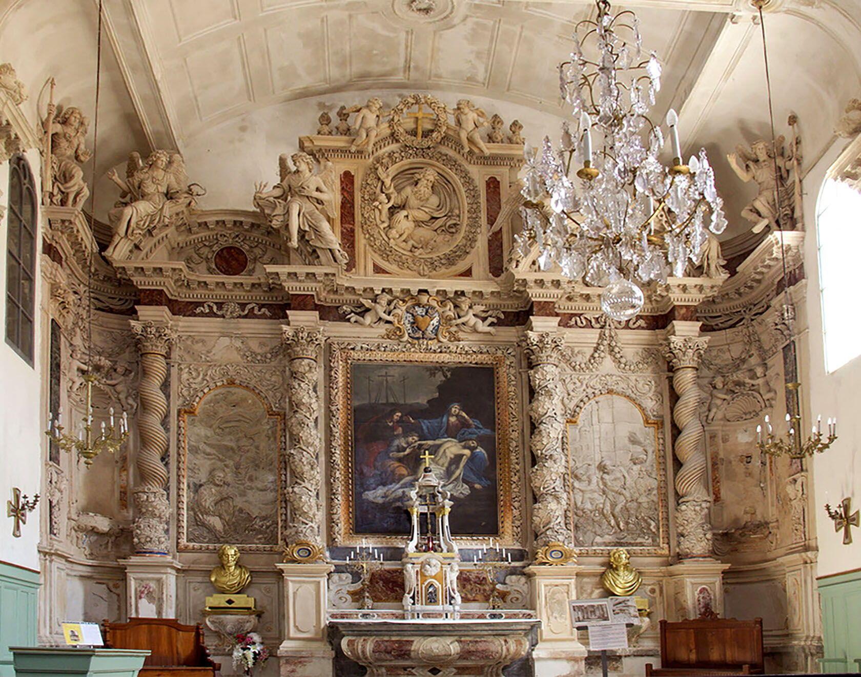 Aigues Mortes Notre-Dame des Sablons church