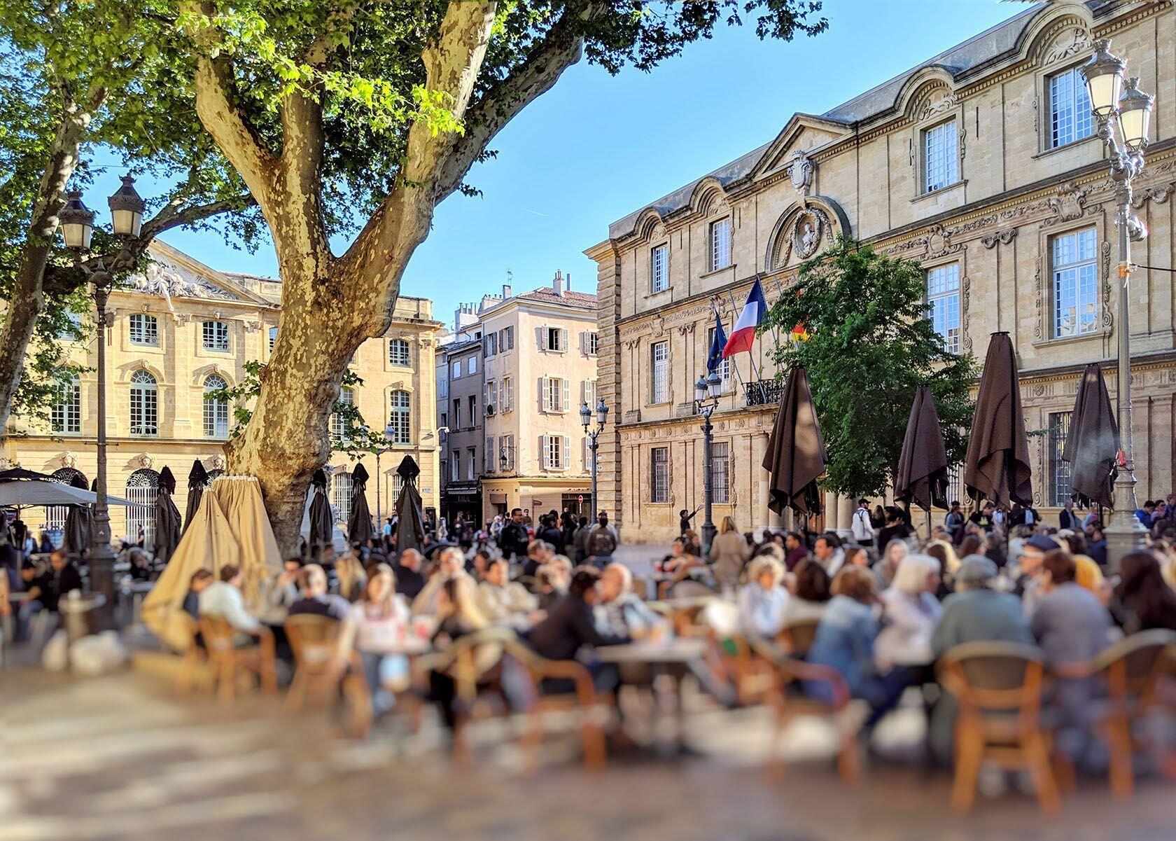 Aix-en-Provence Views City Hall