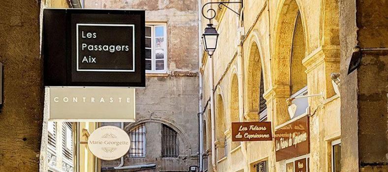 Aix-en-Provence Views Old Town