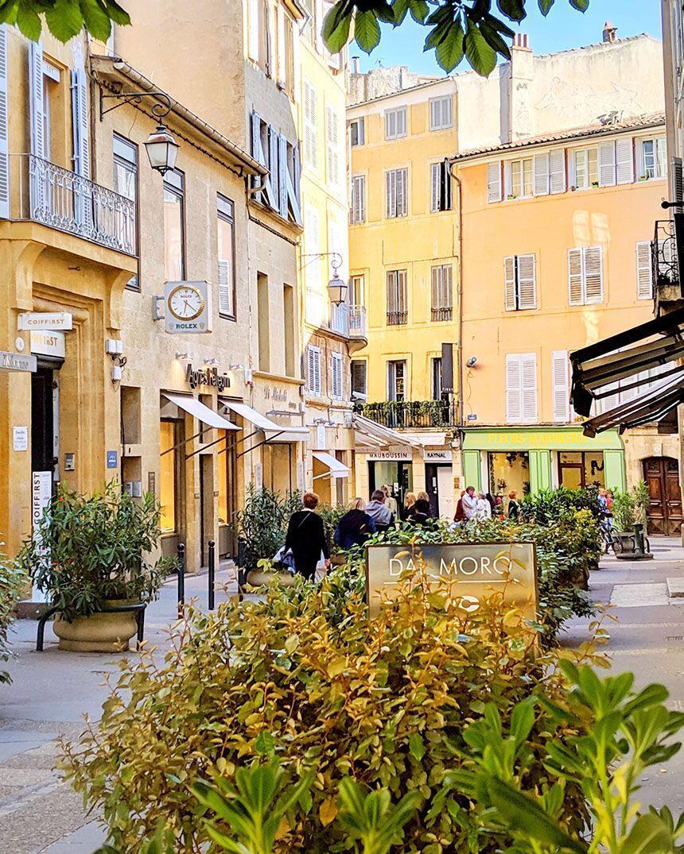 Aix-en-Provence Walking through Old Town Renata Haidle