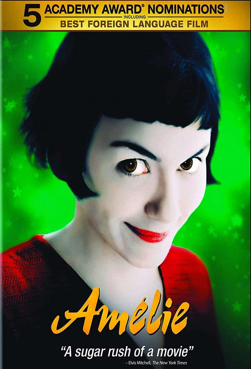 Amelie French Movie Cover Amazon