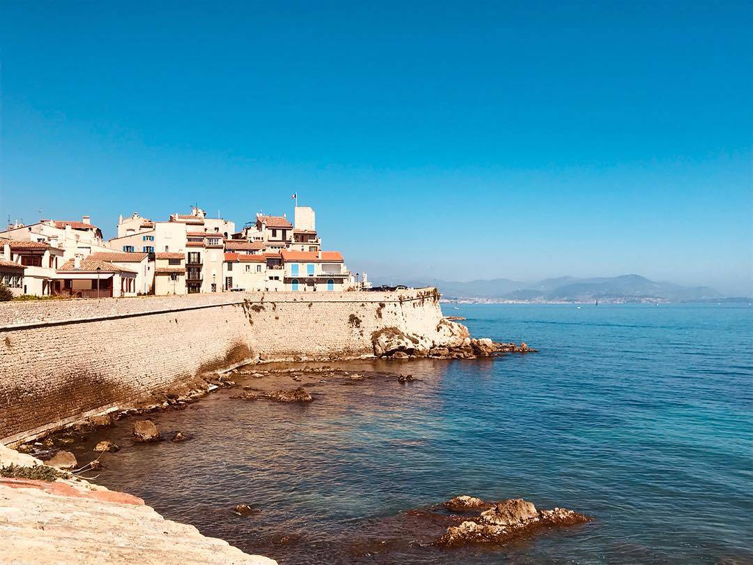 Antibes French Riviera View