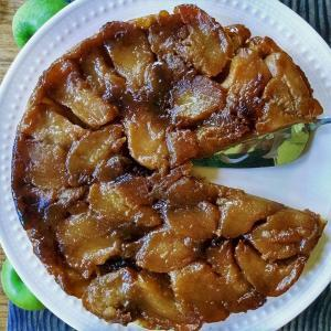 Apple Tarte Tatin Dessert Finished