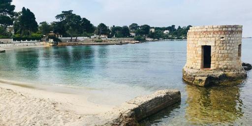 French Riviera Juan les Pins Plage des Ondes
