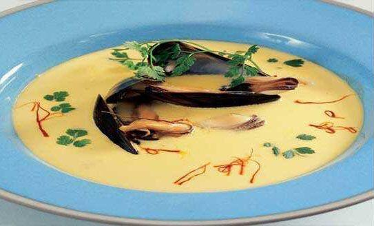 Provencal Soup with Mussels - Soupe de Moules