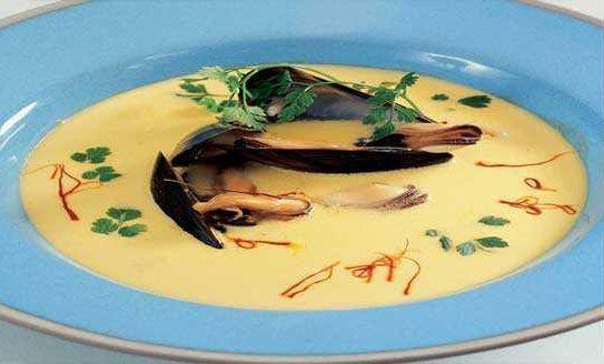 Provencal Soup with Mussels - Soupe de Moules