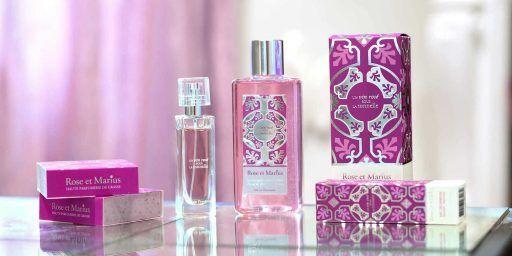 Rose et Marius Perfume Rosé Wine collection