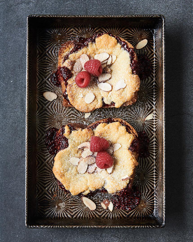 Almond Brioche Toast French Cookbook