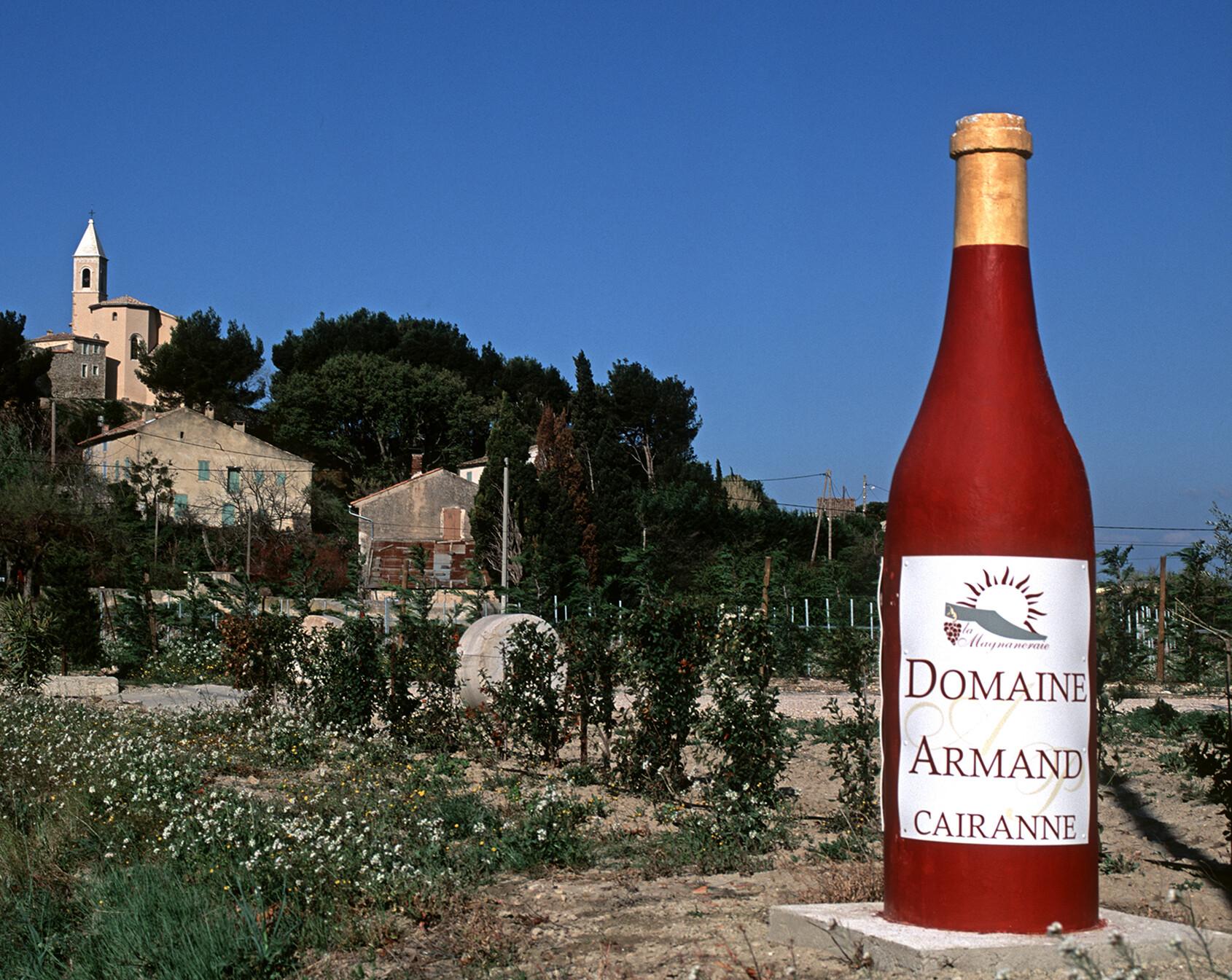 Côtes du Rhône Wine Route Cairanne