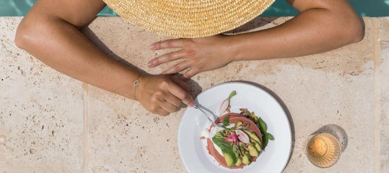 Mirabeau Recipe Pink Pancakes Poolside