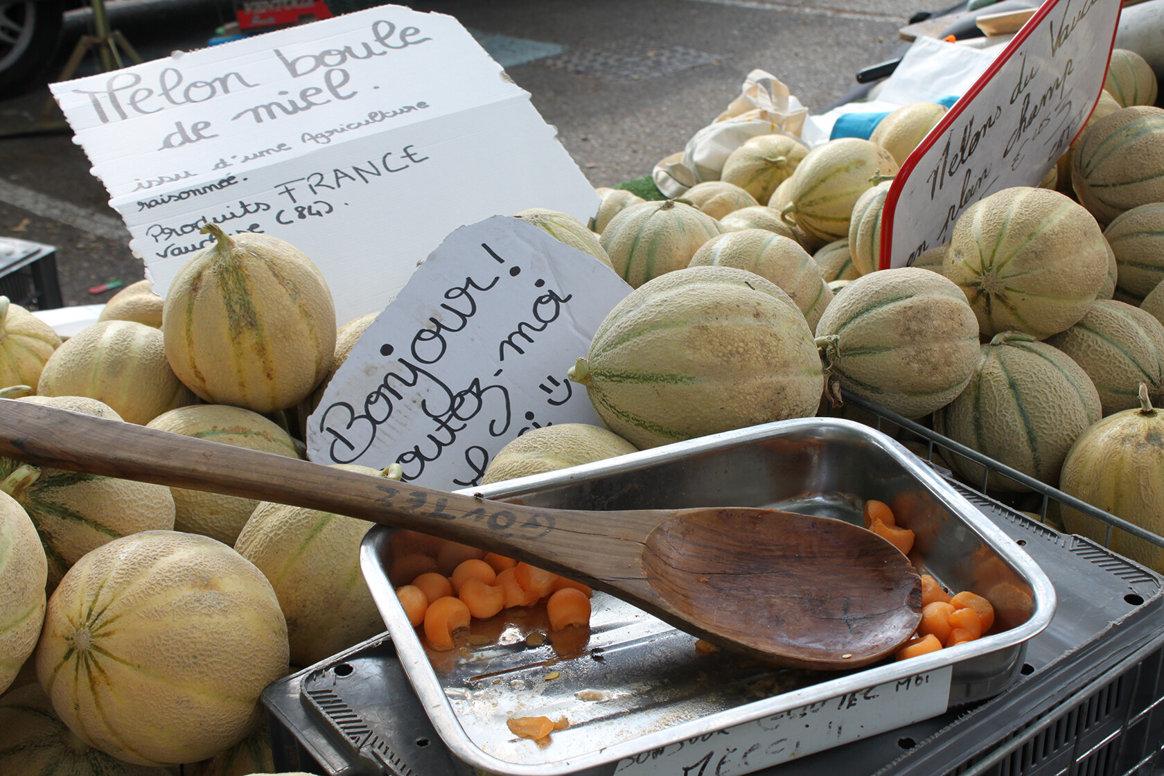 Rent Our Home Provence Melons taste better in Provence