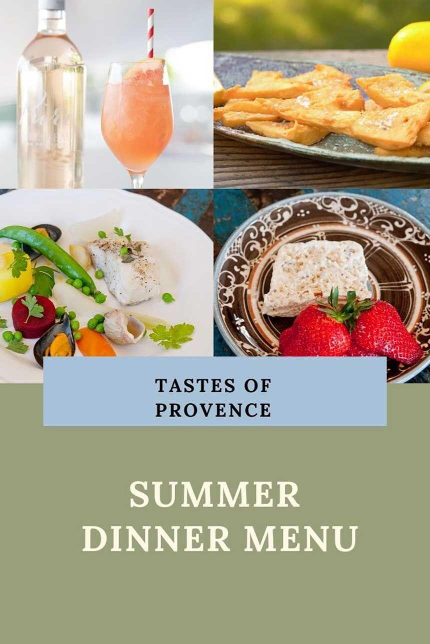 Summer Menu from Provence