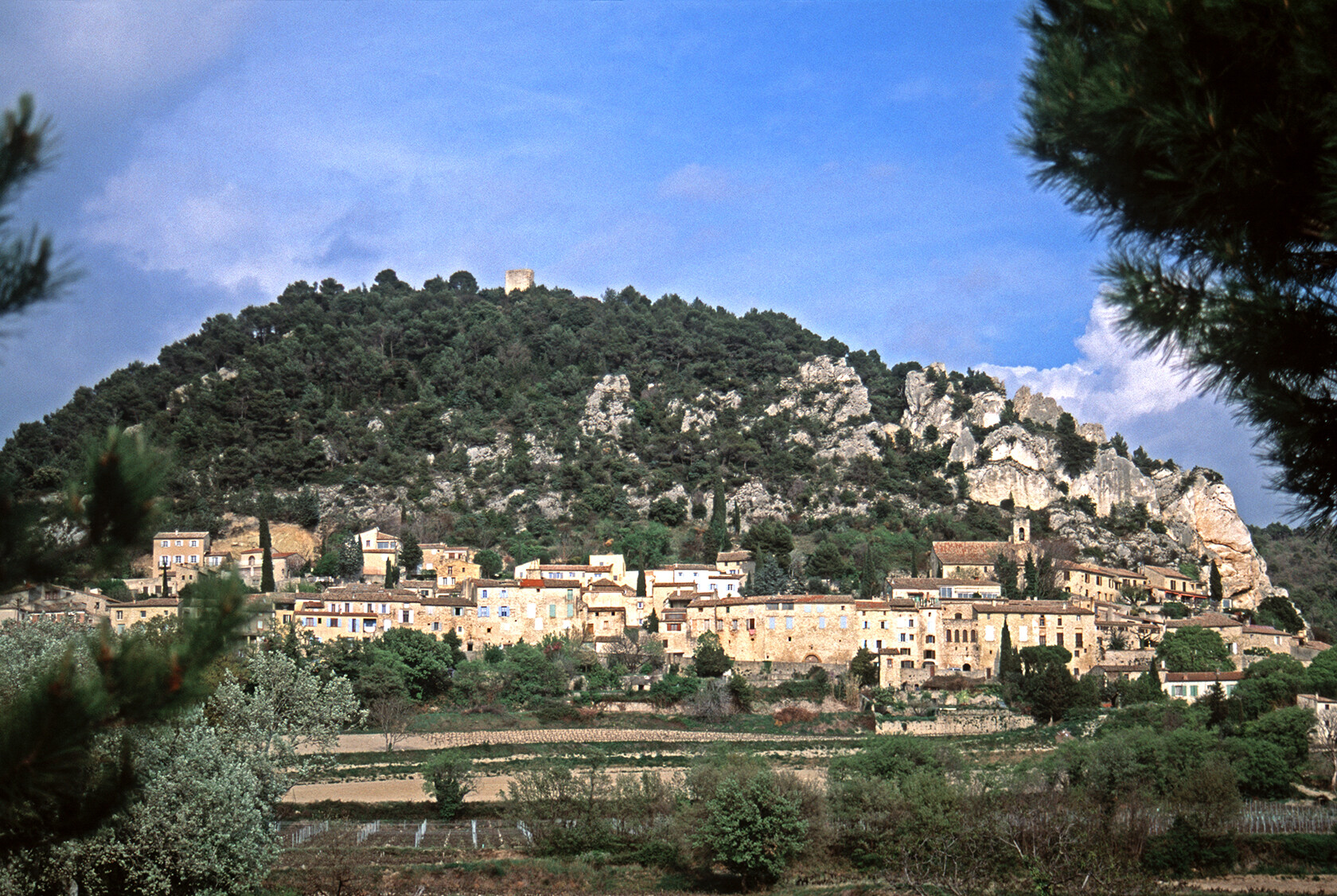 Séguret Côtes du Rhône Wine Route