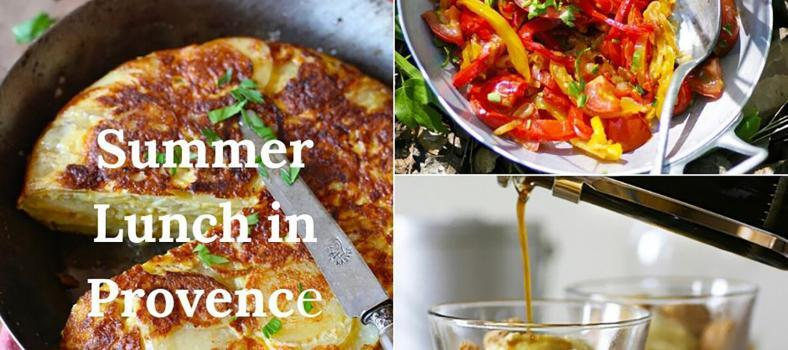 Summer Lunch in Provence Recipes