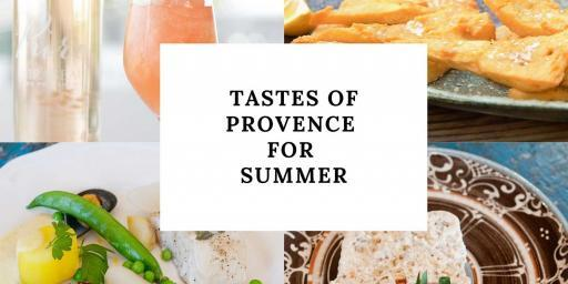Summer Menu from Provence 2020