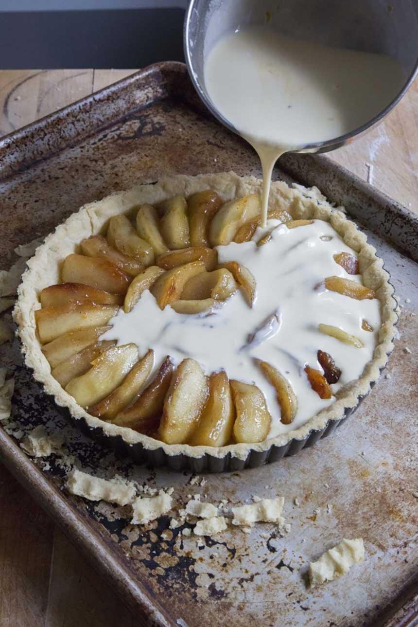 Apple-Creme-Brûlée-Tart French Desserts