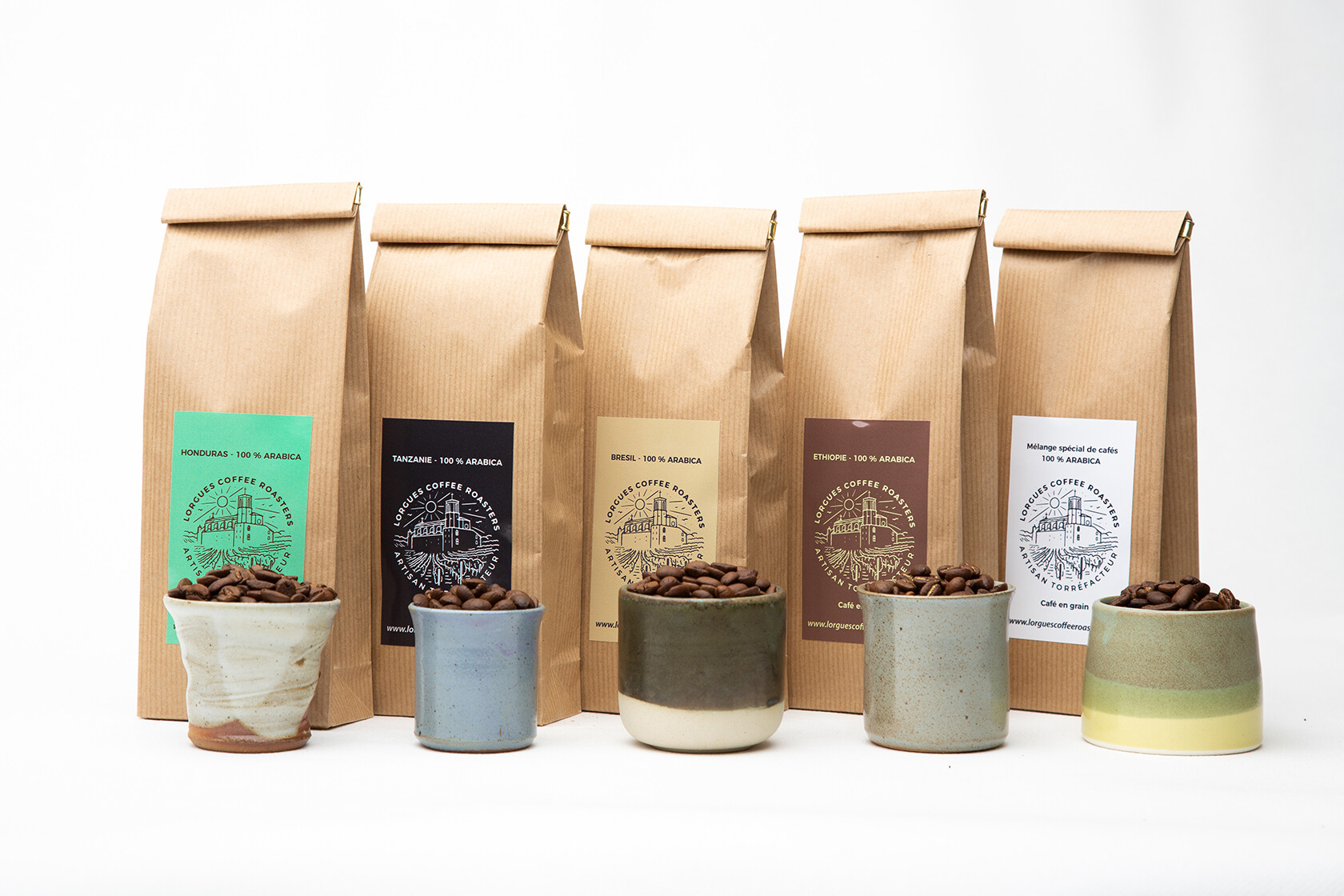 Lorgues Coffee Roasters Provence Range of Coffees