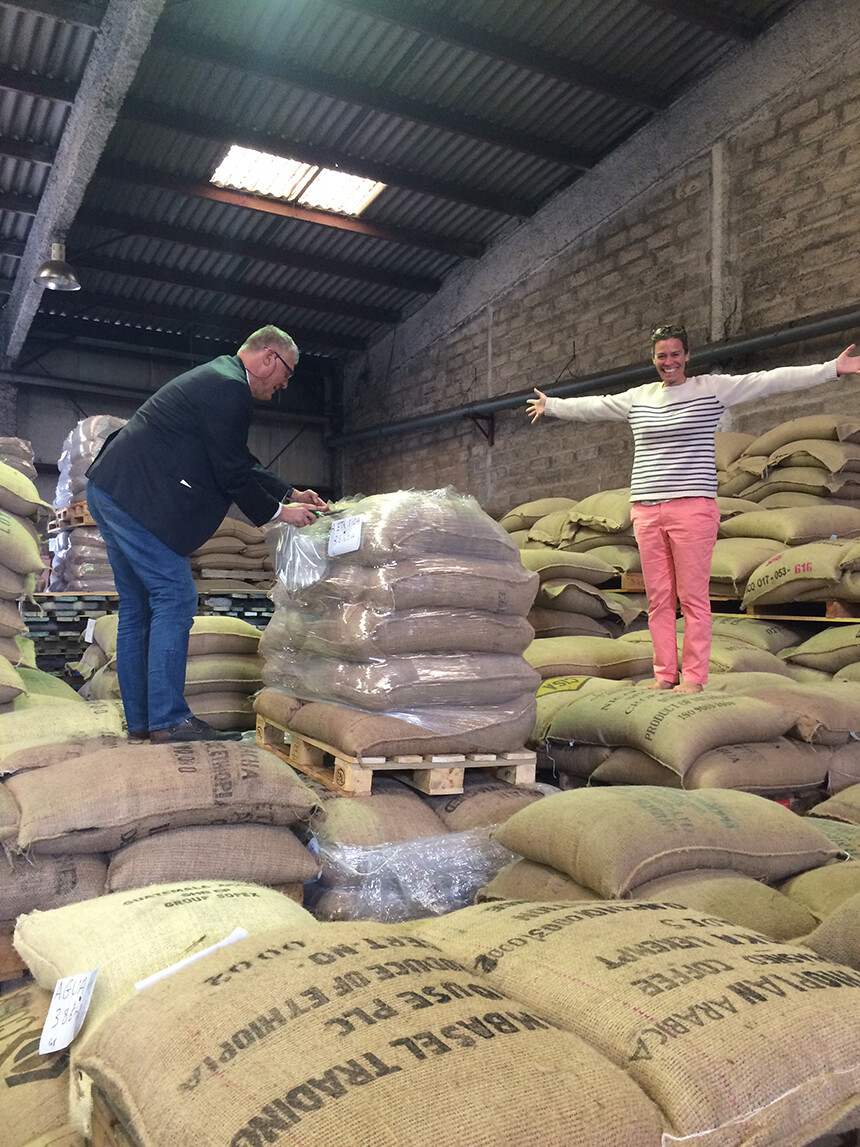 Lorgues Coffee Roasters Provence Warehouse