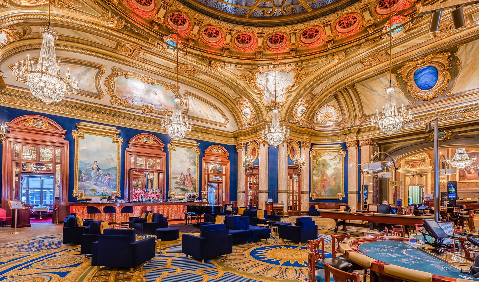 Monaco casino interior