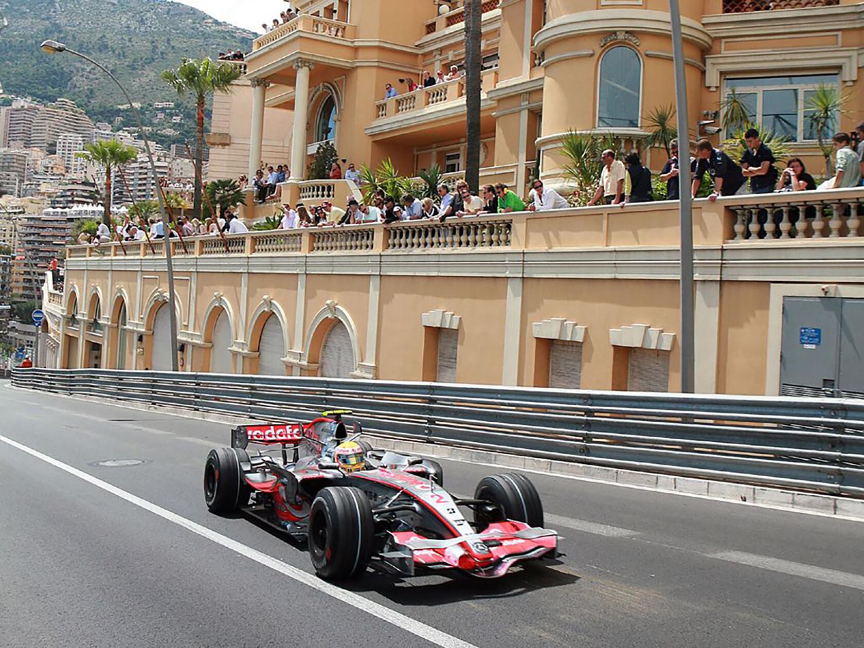 Monaco Formula 1 Race Photo
