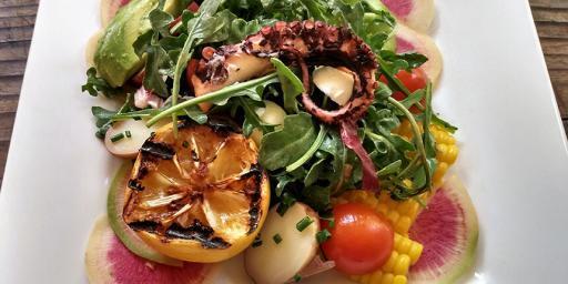 Summer Salad Grilled Octopus Recipe