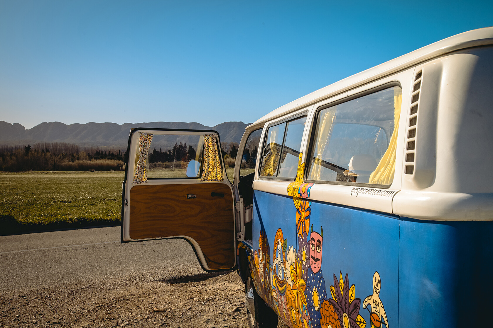 Volkswagen Van Classic Car Rentals Provence Yes Provence