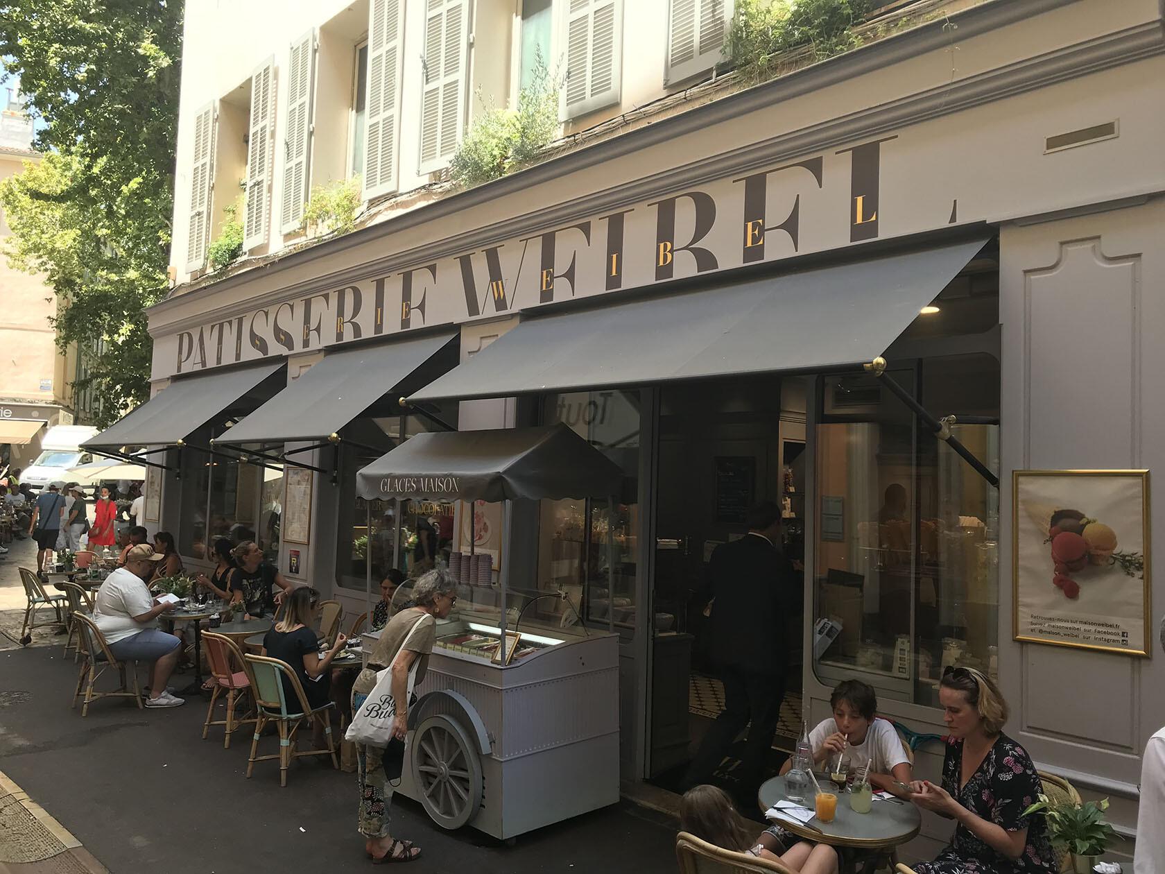 Pâtisserie Weibel Aix-en-Provence