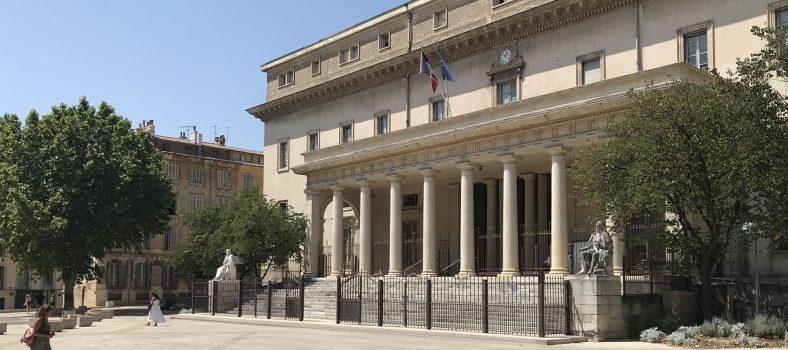 Palais du Justice. Place des Prêcheurs
