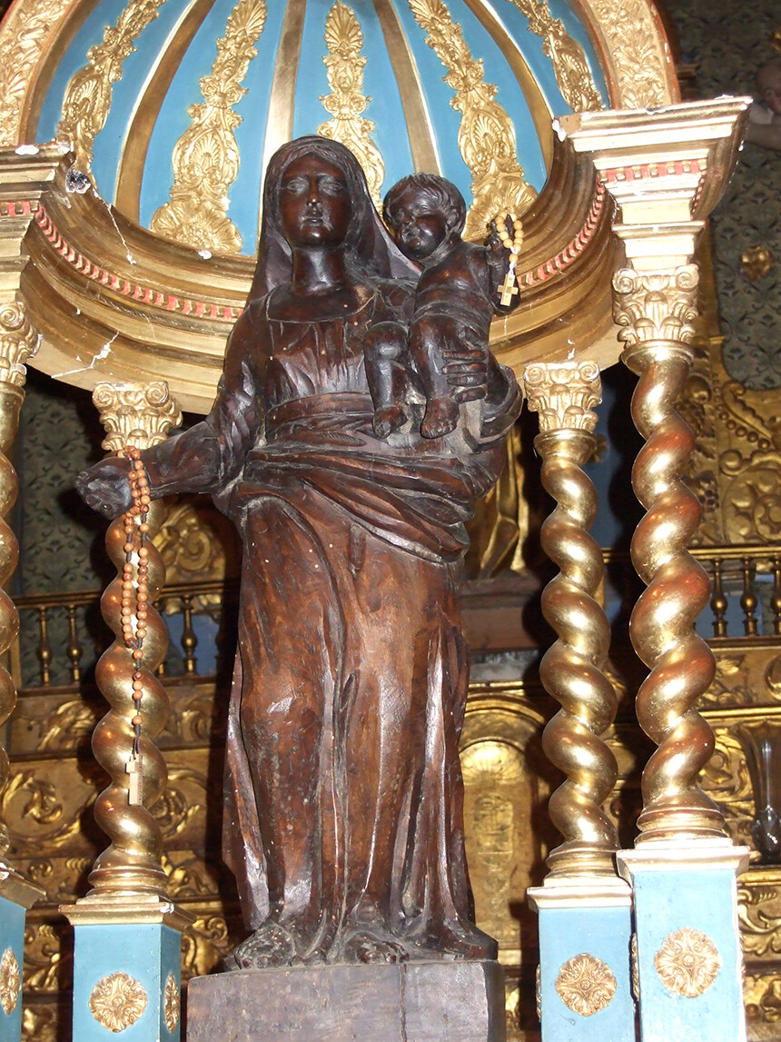 Pilgrimage Sacred Sites France Black Madonna at Village of Bargemon