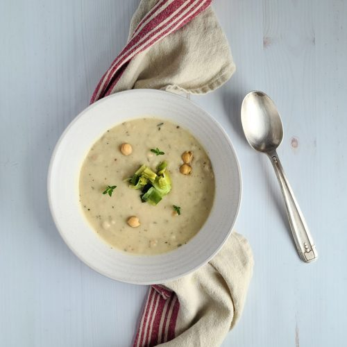 Provencal Chickpea Soup Fall Dinner Party Menu