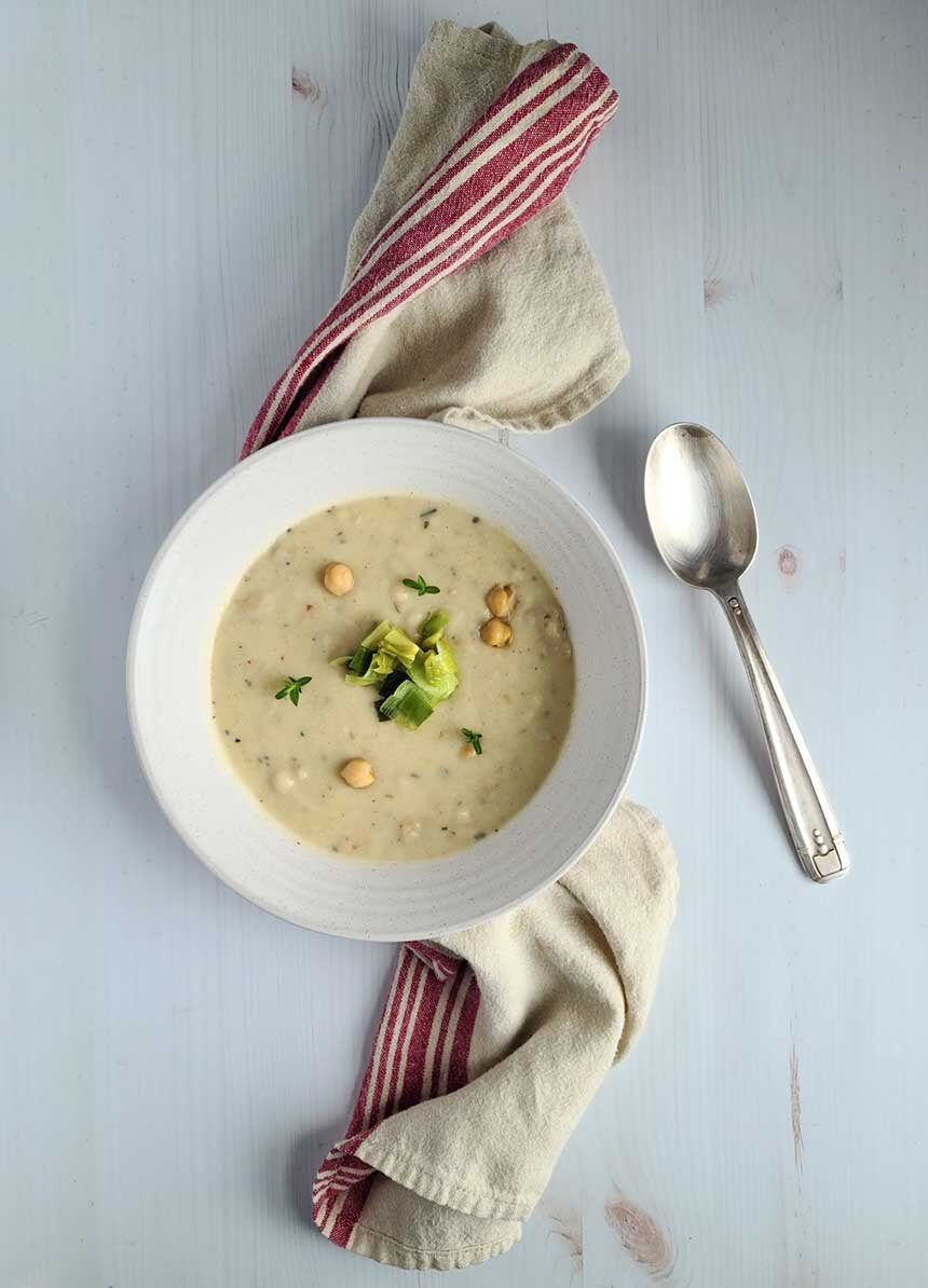 Provencal Chickpea Soup